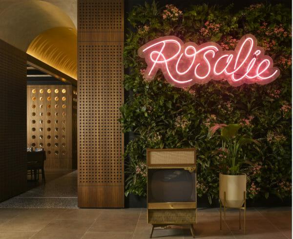 Rosalie Resturaunt Sign